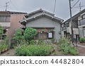 the modern apartment building at Momoyama kyoto 44482804