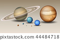 Set of solar system element 44484718