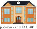 modern exterior building 44484813