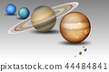 Set of solar system planet 44484841