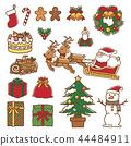 聖誕節材料 44484911