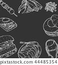 food, burger, hamburger 44485354