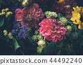 Beautiful fairy dreamy magic flowers. 44492240