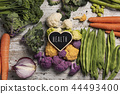 raw vegetables and text health 44493400