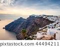 Fira town on Santorini, Greece 44494211