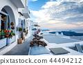 Fira town on Santorini, Greece 44494212