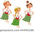 Hula girl 44494288