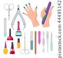 hand, manicure, nail 44495142
