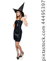 dress, halloween, portrait 44495397