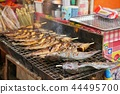 chargrilled, yarns, fish 44495700