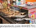 chargrilled, yarns, fish 44495701