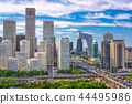 Beijing, China Financial District Cityscape 44495986
