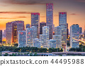 Beijing, China Financial District Cityscape 44495988