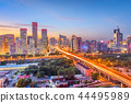 Beijing, China Financial District Cityscape 44495989