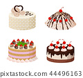 Sweet Bakery Collection Poster Vector Illustration 44496163