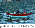 Traditional fishermen and fishing boats  44497257