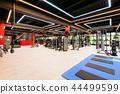 Modern gym interior 44499599