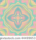 Abstract holographic om denim backdrop vector seamless background. Hologram vibrant style pattern 44499653