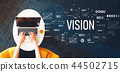 vision, word, laptop 44502715