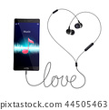 music, touch, design 44505463