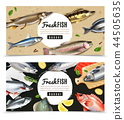 Fishes Horizontal Banners 44505635