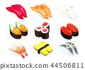 icon, icons, sushi 44506811