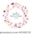 merry christmas icon set 44508230
