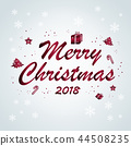 merry christmas and 2018 44508235