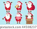 christmas santa claus 44508237