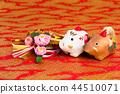 해, 돼지, 연하장 44510071