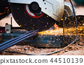 Cutting steel bar 44510139