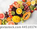 fruit mango orange 44510374
