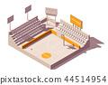 vector isometric stadium 44514954