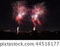 불꽃 놀이, 불꽃 놀이 대회, 밤 44516177