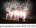불꽃 놀이, 불꽃 놀이 대회, 밤 44516184