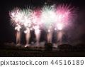 불꽃 놀이, 불꽃 놀이 대회, 여름 축제 44516189