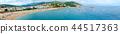 Beautiful panoramic view on Tossa de Mar, Spain 44517363