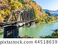 Fukushima Black Bridge Tadami River Japan 44518639