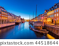 Copenhagen Nyhavn Denmark 44518644
