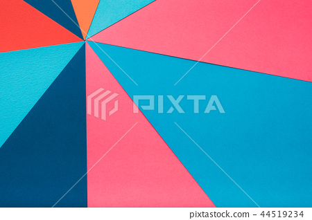 multicolor construction paper collage background 44519234