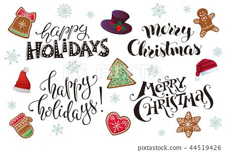 happy holidays phrases 44519426