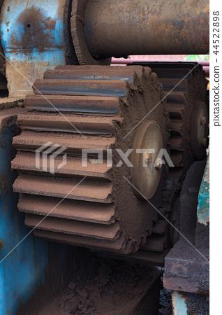 生鏽的齒輪 44522898