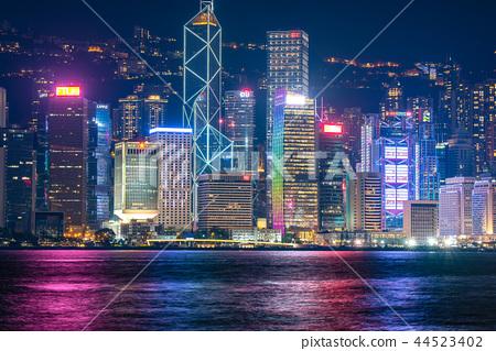 香港夜景 44523402