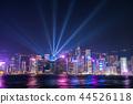 hongkong, hong kong, night scape 44526118