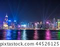 hongkong, hong kong, night scape 44526125