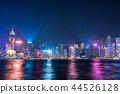 홍콩 야경 심포니 오브 라이츠 44526128