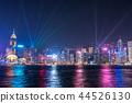 hongkong, hong kong, night scape 44526130