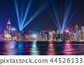 hongkong, hong kong, night scape 44526133