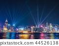 hongkong, hong kong, night scape 44526138