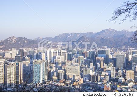 서울 겨울의 아침 44526365